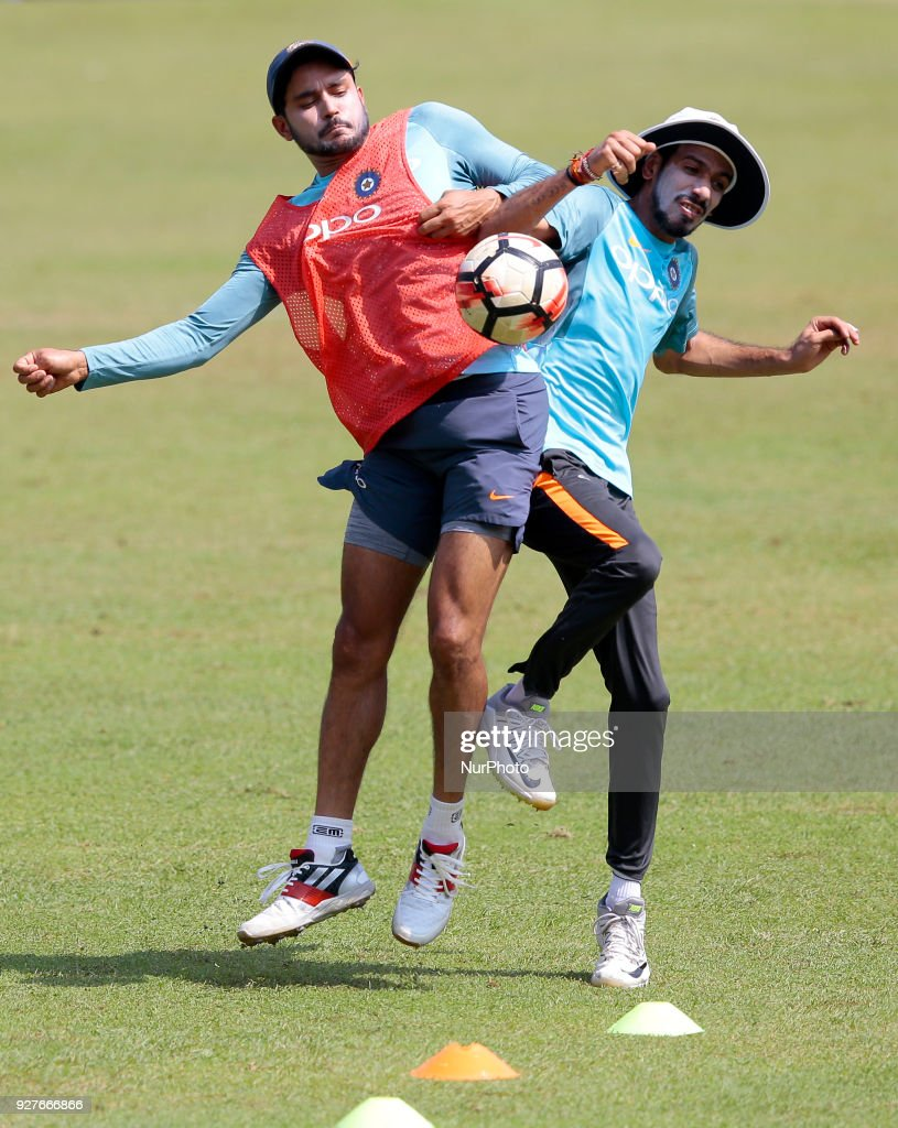 NIDAHAS Trophy cricket press conference and training session