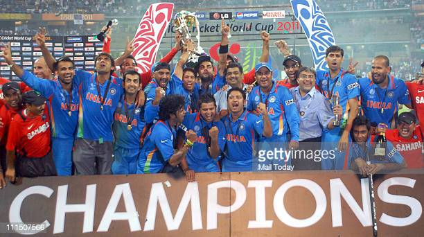 2011 Cricket World Cup Final Premium Pictures Photos