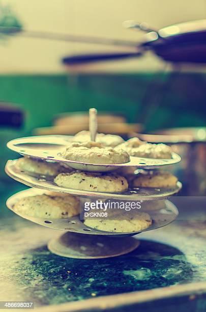 Indian cuisine Idli preparation