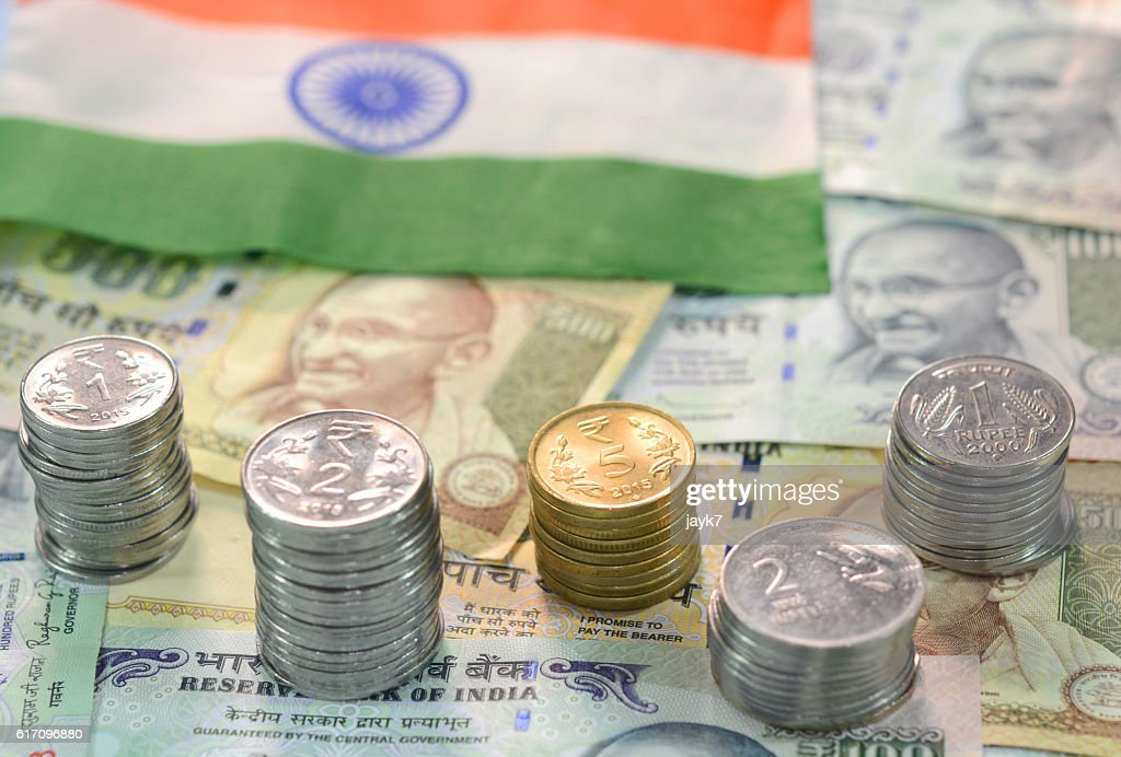 Indian Currency : Stock Photo