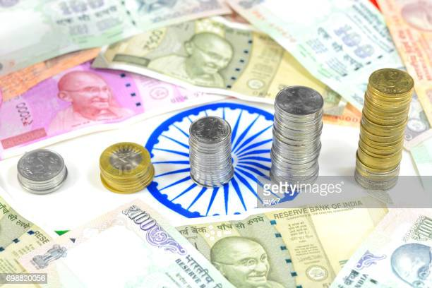 indian currency - economy stock pictures, royalty-free photos & images