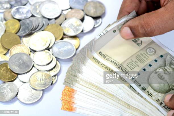 indian currency - indian currency stock photos and pictures