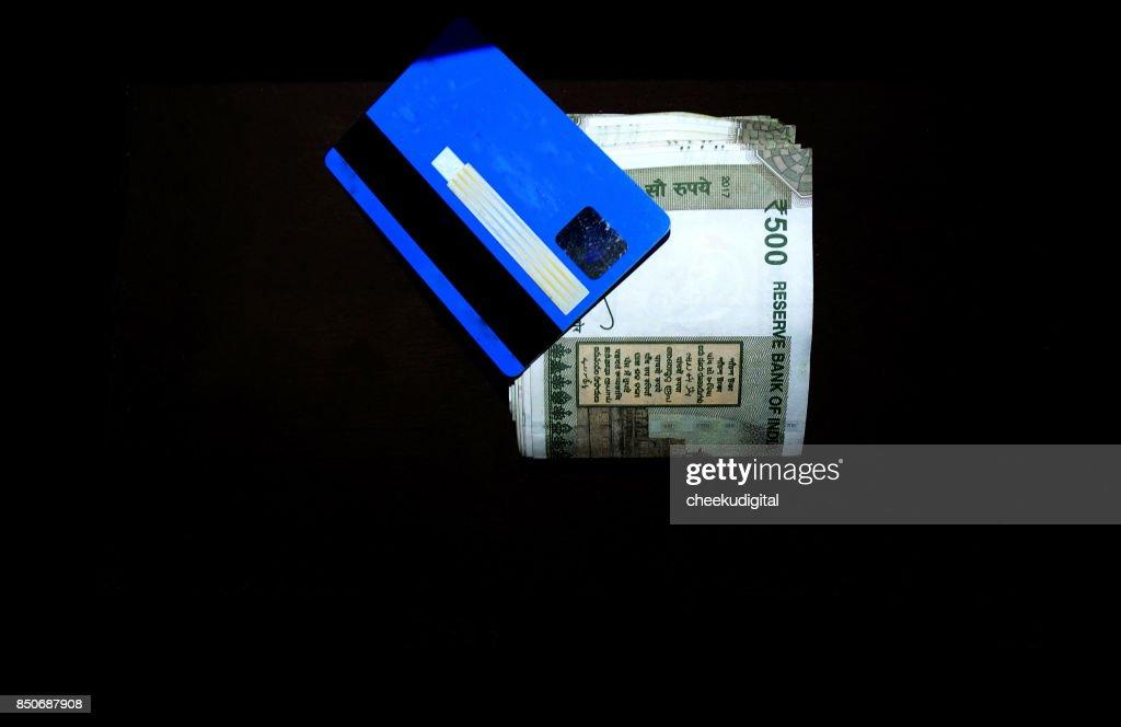 indien ec karte Indische Währung Mit Eckarte Stock Foto   Getty Images