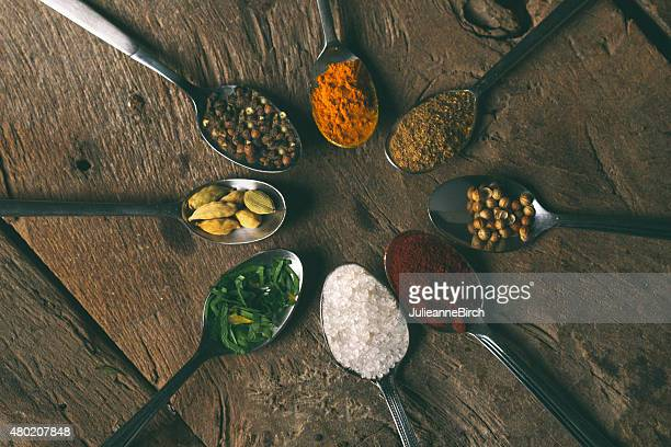 Indian curry spices