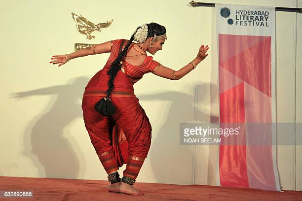 Indian dancer Kiranmayee Madupu performs Tamil folklore 'Stories of the Soil' through the idiom of Bharatanatyam dance interspersed with singing and...
