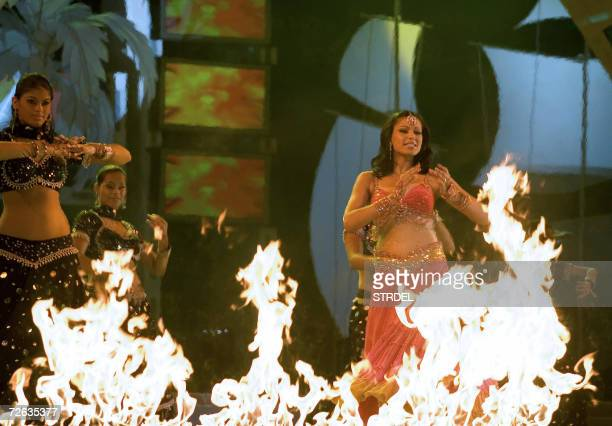 Indian dancers take part in a ceremony to mark the opening of the Indian International Film Festival in Panaji 23 November 2006 Thousands of...