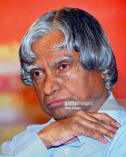 PHOTO Indian defense scientist APJ Abdul Kalam poses for a portrait in this undated photo Kalam is the presidential candidate of the ruling National...