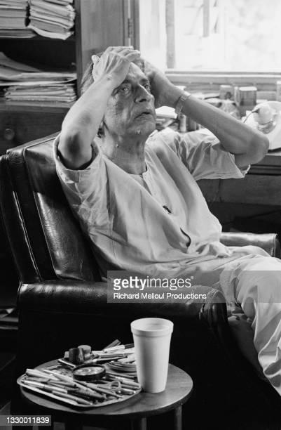 Indian Director Satyajit Ray.