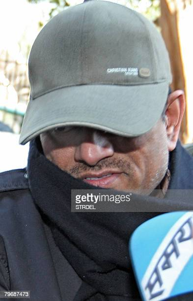 Indian doctor Amit Kumar arrives for questioning at the Central Bureau of Investigation in New Delhi February 10 2008 A judge allowed Indian federal...