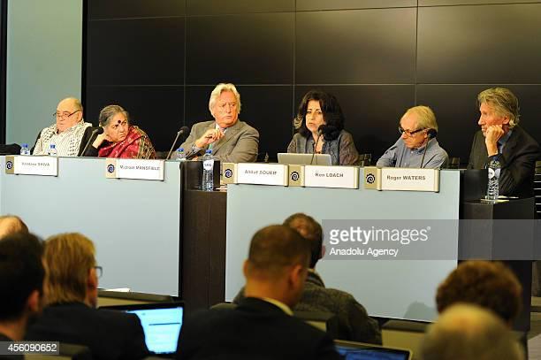 Indian environmental activist Vandana Shiva English socialist Michael Mansfield Egyptian novelist Ahdaf Soueif English film and television director...