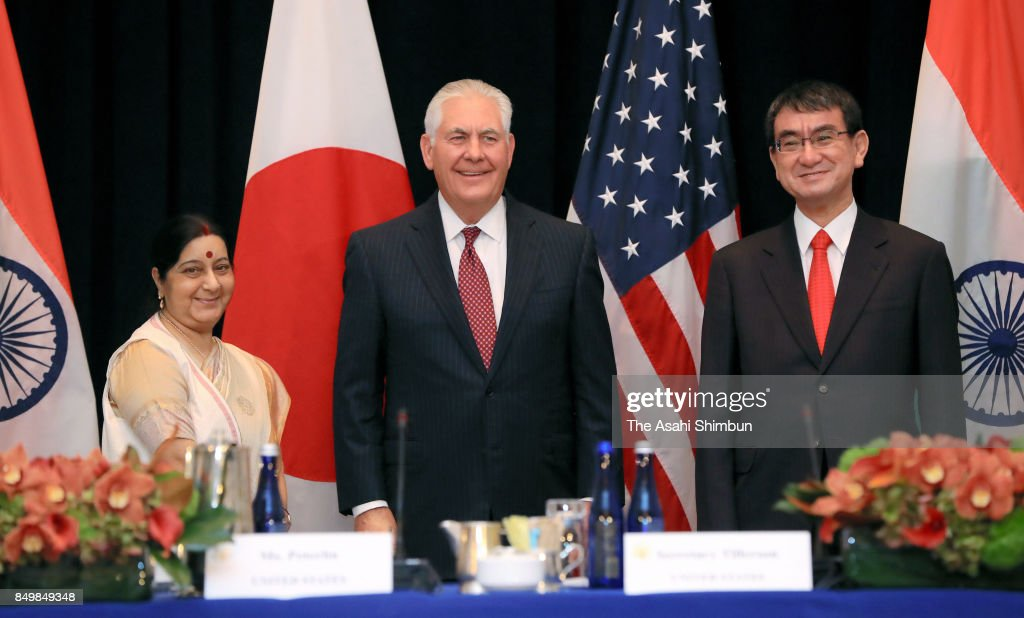 India-US-Japan Foreign Ministers Meeting