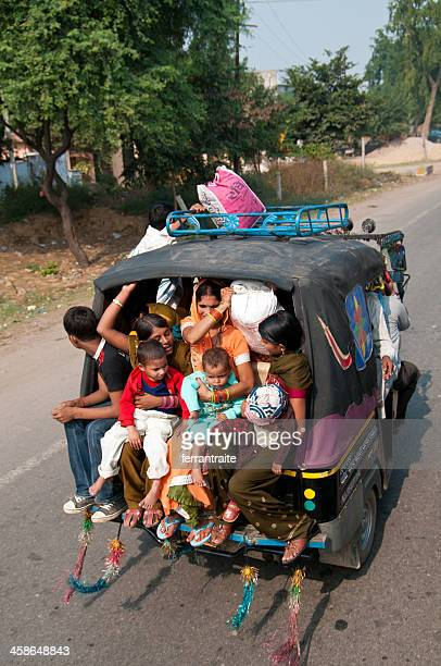 Indian Family Travelling