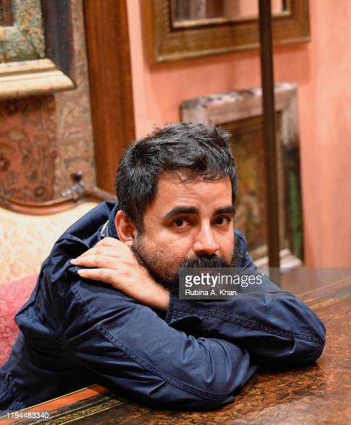 Indian fashion and jewelry designer Sabyasachi at Sabyasachi Jewelry his first flagship jewelry store in the country on December 17 2019 in Mumbai...