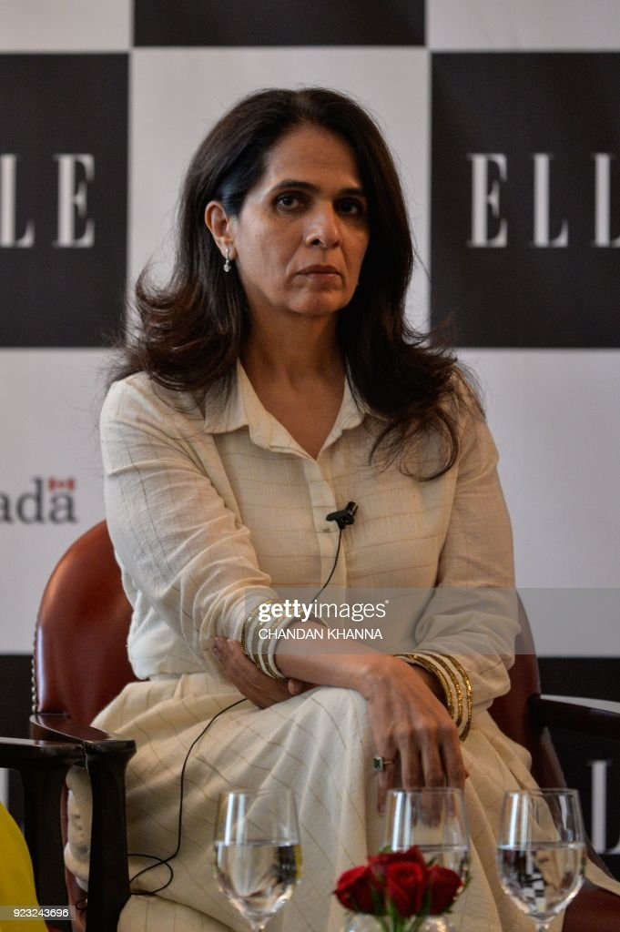 Indian Fashion Designer Anita Dongre Speaks At A Panel Discussion On News Photo Getty Images