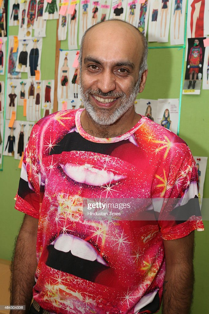 Indian Fashion Designer Manish Arora Poses For A Profile Shoot At News Photo Getty Images