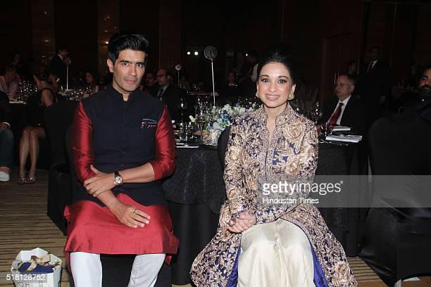 Indian Fashion Designer Manish Malhotra during the MINT Luxury Conference at Grand Hyatt Santacruz on March 25 2016 in Mumbai India Mint Luxury...