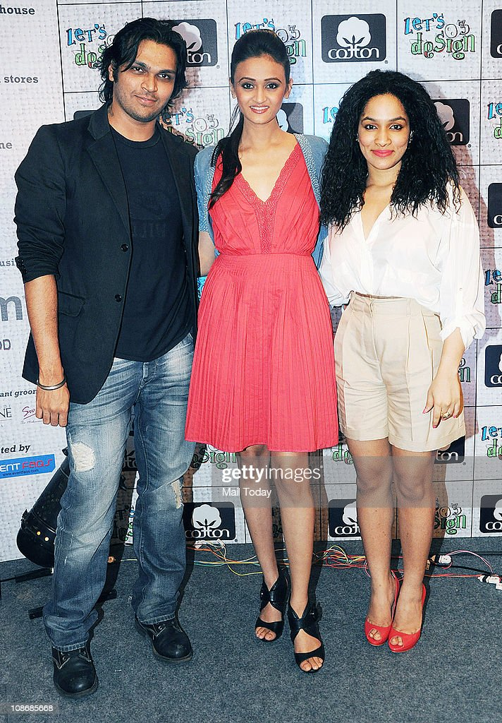 Indian Fashion Designers Masaba Gupta And Swapnil Shinde Poses As News Photo Getty Images