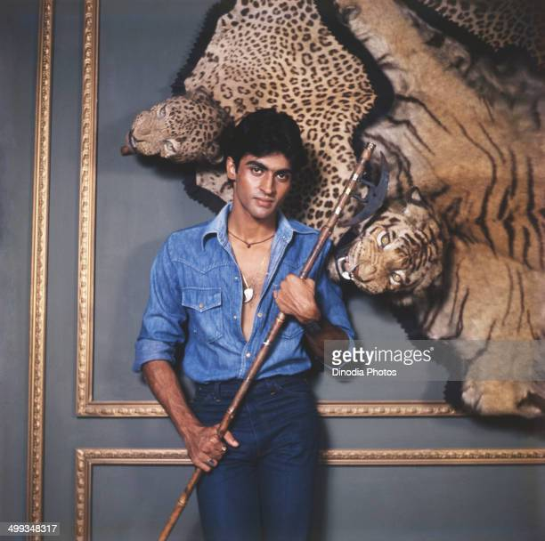 1980 Portrait of Indian film actor Mohnish Behl