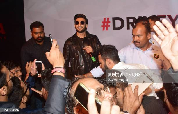 Indian film actor Ranveer Singh launches Carreras global campaign #DriveYourStory in Mumbai