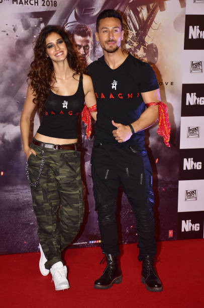 indian-film-actor-tiger-shroff-and-actress-disha-patani-present-at-picture-id922991148