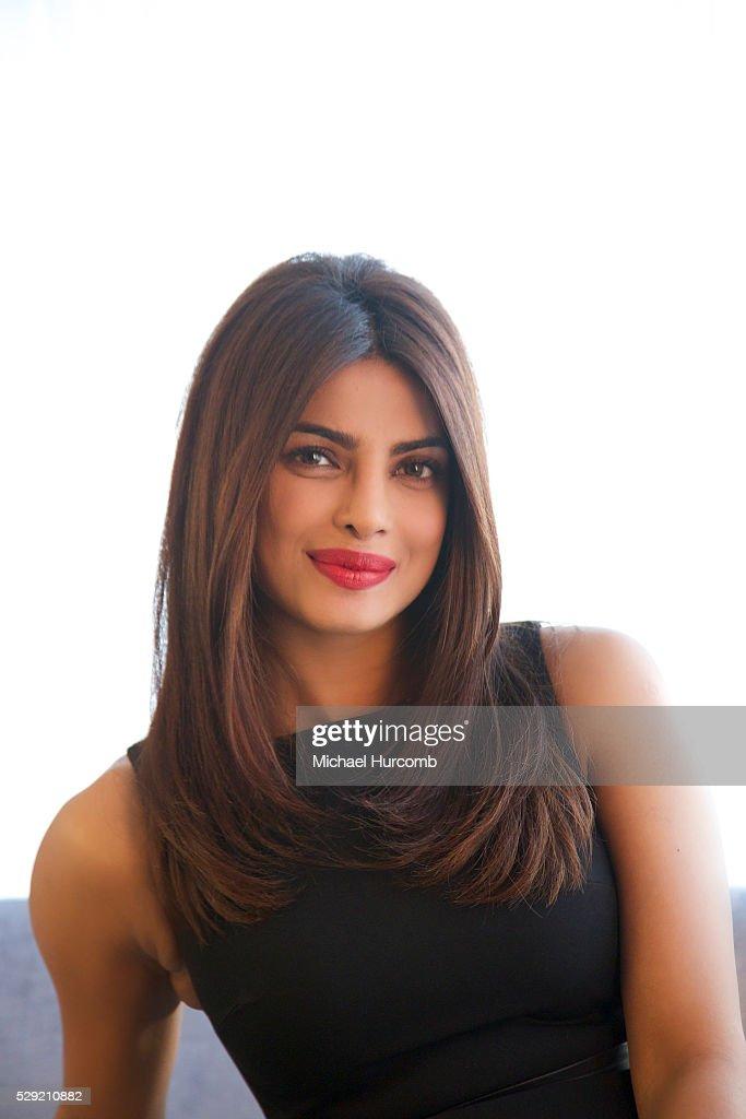 Indian film actress and singer Priyanka Chopra poses for a ...
