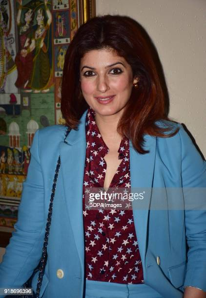 Indian film actress director Twinkle Khanna present at the World Bank UNICEF Global Edutainment Project with collaboration of Indian Film Industry at...