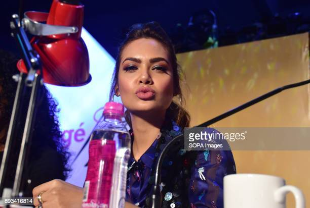 Indian film actress Esha Gupta attend the LIVA Protégé 2017 fashion show by students of different parts of India An initiative by LIVA from the house...