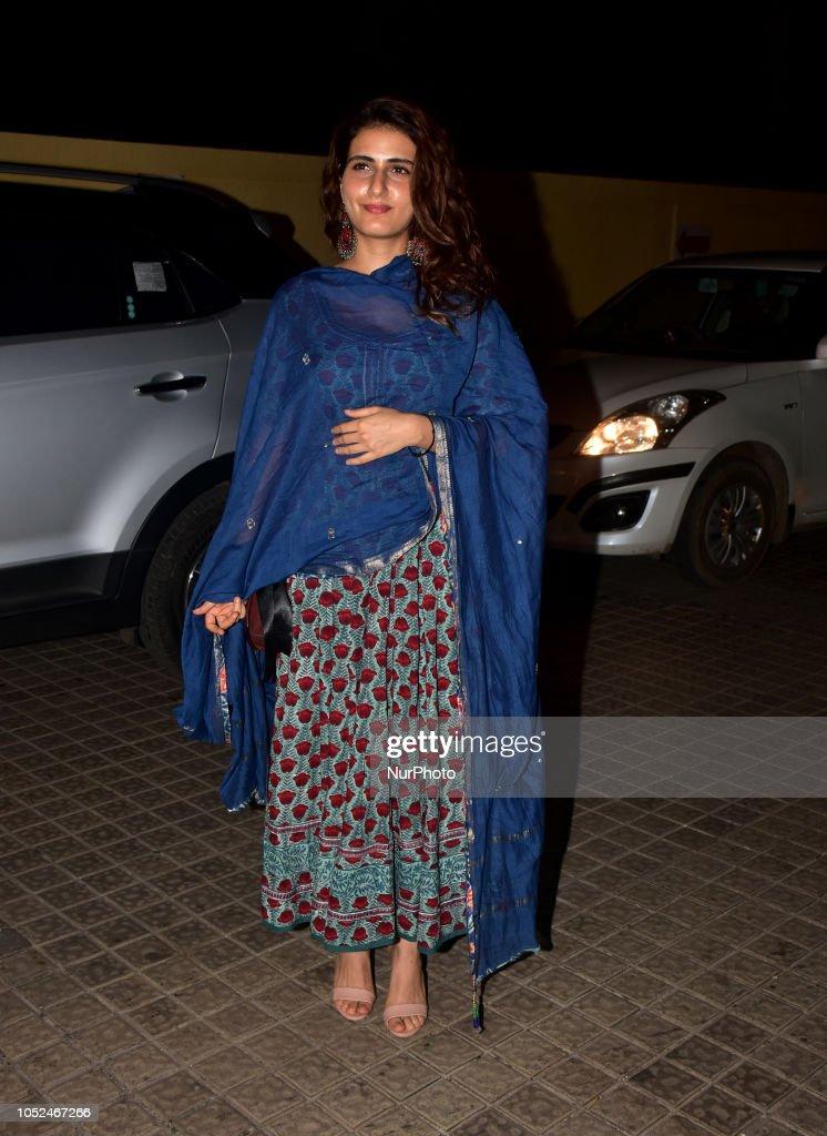 Screening Of Film Badhaai Ho In Mumbai : News Photo