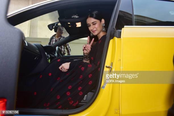 Indian film actress Ileana D'Cruz pose during trailer launch of her upcoming film Raid at PVR Juhu in Mumbai