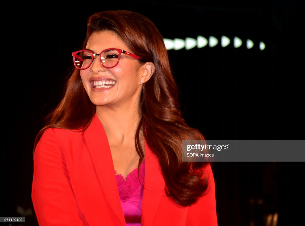 "Indian film actress ""Jacqueline Fernandez"" pose during the... : News Photo"