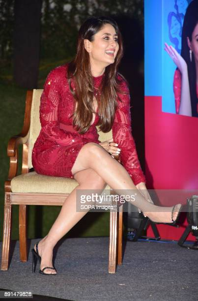 Indian film actress Kareena Kapoor Khan present at the launch of the debut book of author / actor Soha Ali Khan titled 'The Perils of Being...