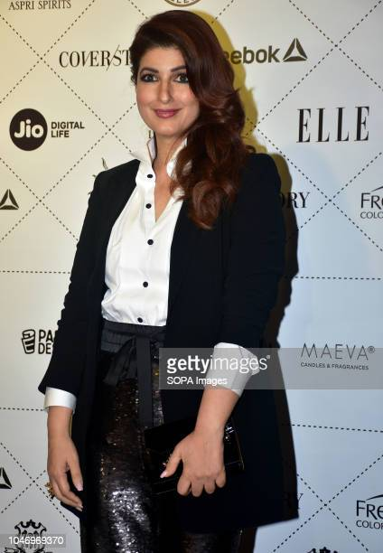 Indian film actress Twinkle Khanna attend the ELLE India Beauty Awards 2018 at hotel Taj Lands End in Mumbai