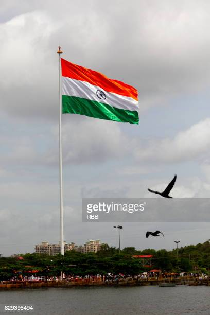 Indian Flag Hoisted