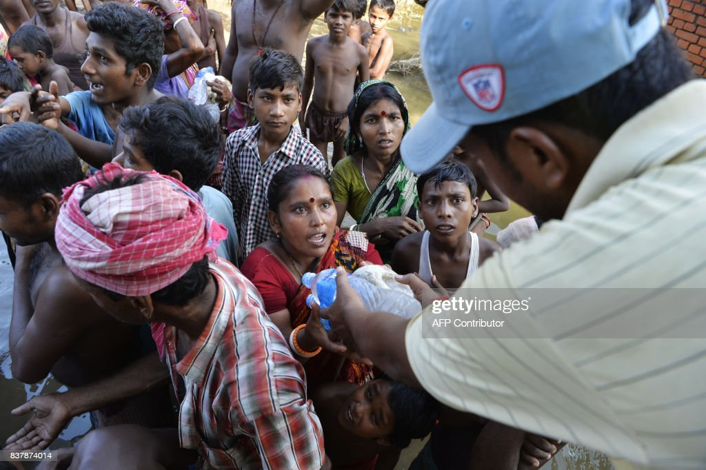 INDIA-FLOOD-MONSOON : News Photo