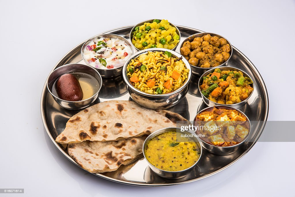 Indian Food Platter Or Indian Thali South Indian Thali High Res Stock Photo Getty Images