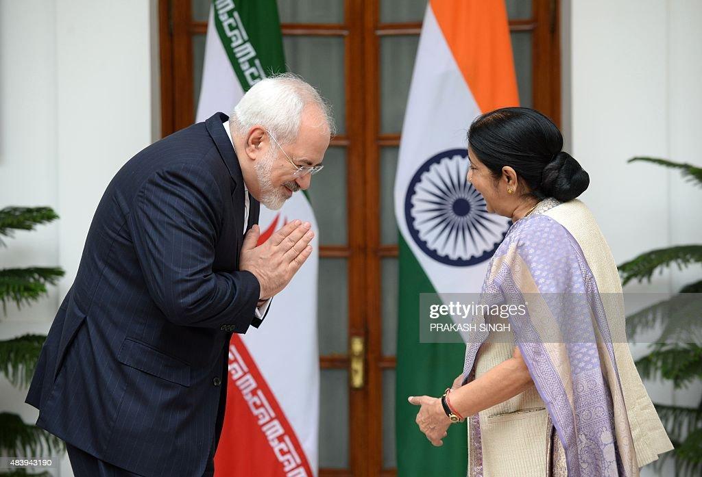 CORRECTION-INDIA-IRAN-POLITICS : News Photo