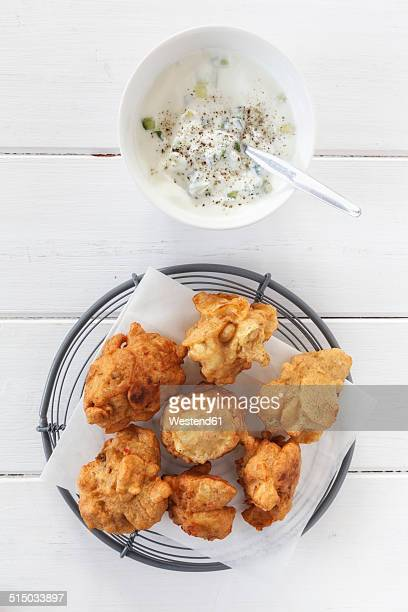 Indian fried snack Pakora