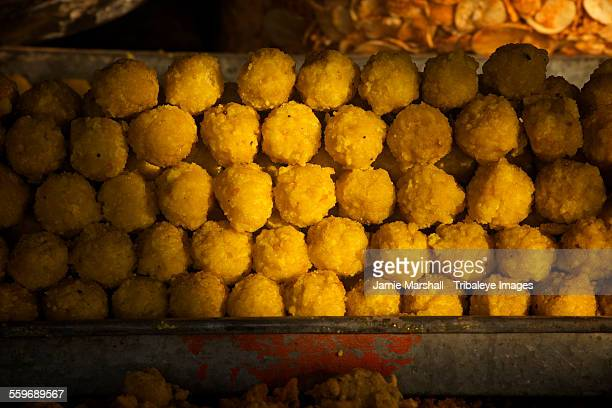 Indian fried sweets for sale, Pushkar, Rajasthan