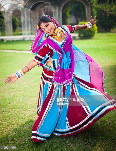 indian girl dancing - beautiful arabic girls stock photos and pictures