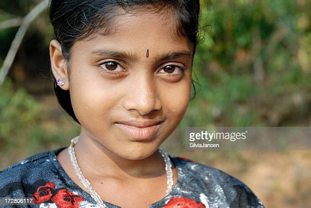 indian girl - bindi stock pictures, royalty-free photos & images