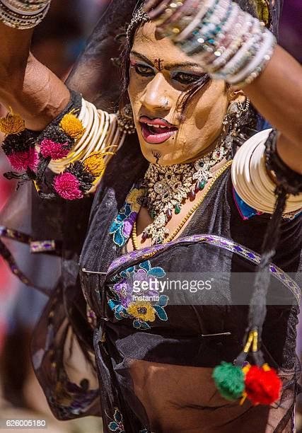 indian hermaphrodite dancer - hermaphrodite stock pictures, royalty-free photos & images