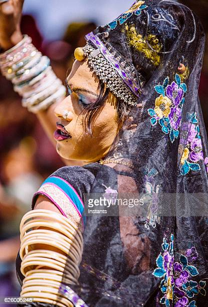 indian hijra dancer - hermaphrodite stock pictures, royalty-free photos & images