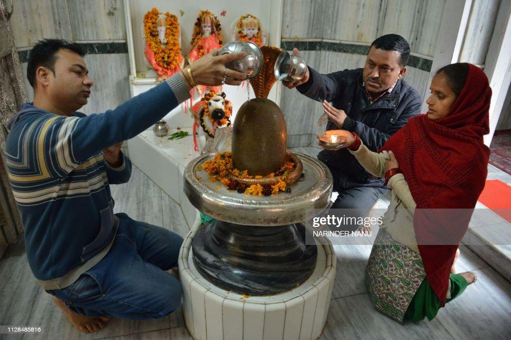 INDIA-RELIGION-HINDU : News Photo