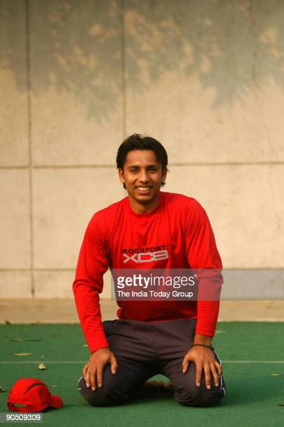 Indian hockey player Jugraj Singh during the 42nd STC Nehru hockey tournament against Indian Airlines at the Shivaji stadium New Delhi
