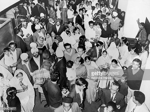 Indian Immigrants Waiting For Their Plane To London In Nairobi In 1968