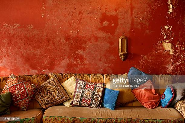 indian interior - persian stock photos and pictures