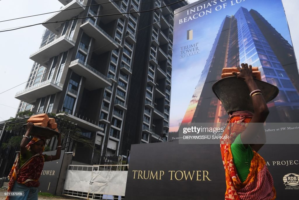 Trump junior to wine and dine luxury flat buyers in India