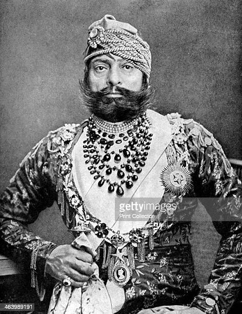 Indian maharajah 1936 From Peoples of the World in Pictures edited by Harold Wheeler published by Odhams Press Ltd