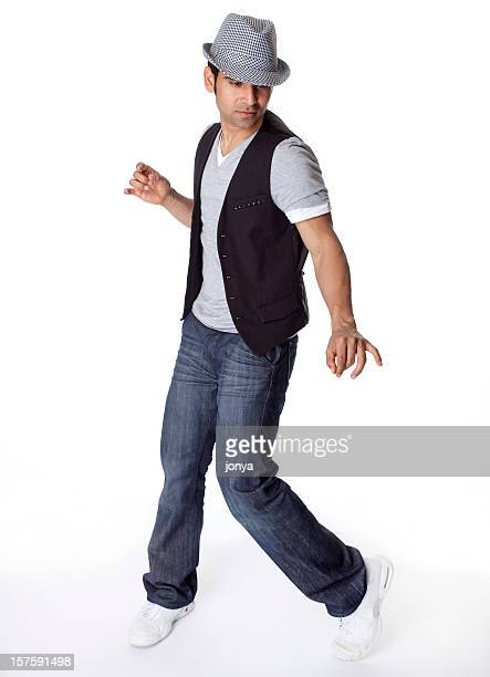 indian male dancer - all hip hop models stock photos and pictures