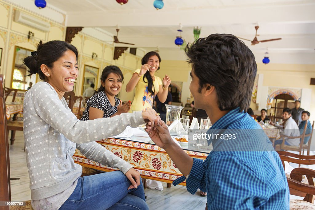Indian Marriage Proposal Stock Photo Getty Images